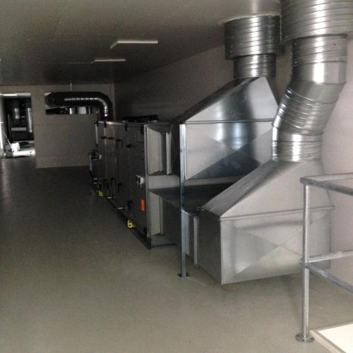 Nyt ventilationshus på Vejle Sygehus