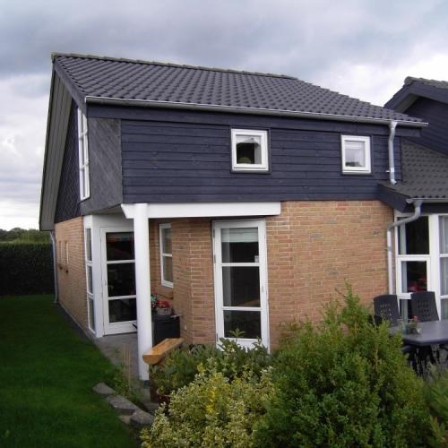 Om- og tilbygning af villa (loftsetage)