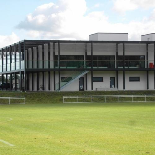 VB fodboldklubs nye klublokaler (nybyg)